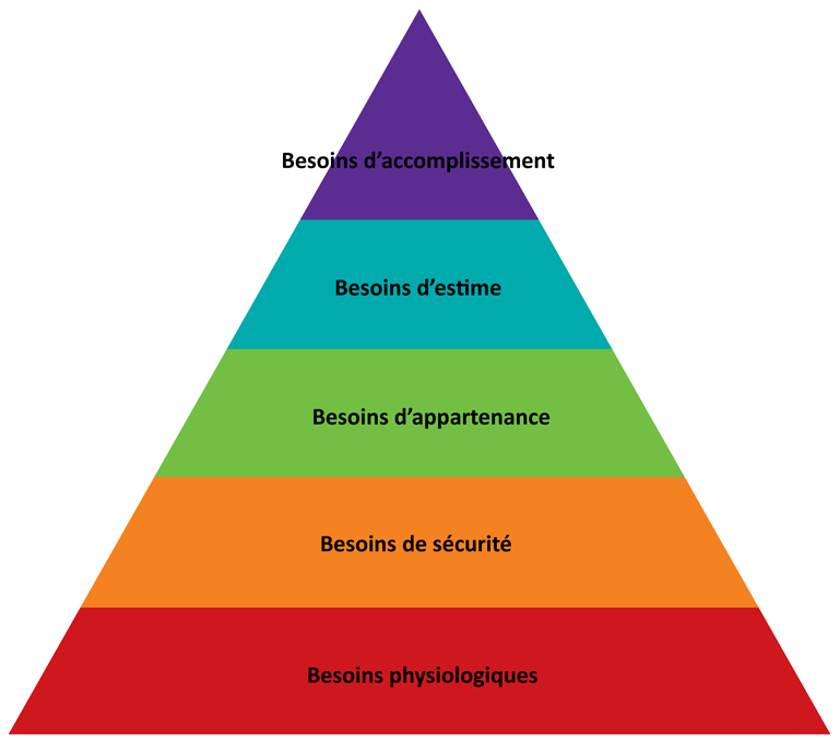 pyramide de Maslow hiérarchisation des besoins développement personnel